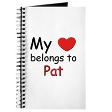 My heart belongs to pat Journal