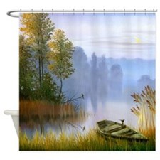 Beautiful Summer Painting Shower Curtain