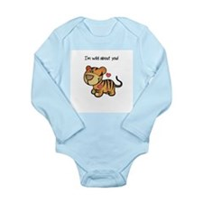 Wild About You Long Sleeve Infant Bodysuit