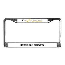 Drifter License Plate Frame