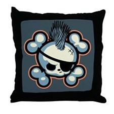 Punkin Pirate 1113 Throw Pillow