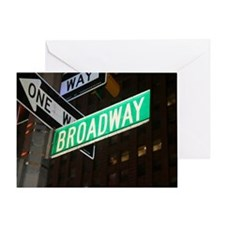 broadway3 Greeting Card