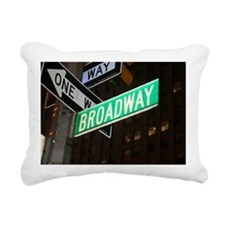 broadway3 Rectangular Canvas Pillow