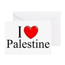 """I Love Palestine"" Greeting Cards (Pk of 10)"