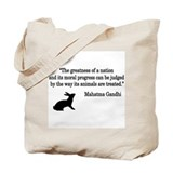 Moral Values Quote Tote Bag