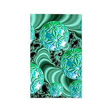 Emerald Satin Dreams 3'x5' Area Rug