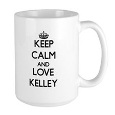 Keep calm and love Kelley Mugs