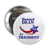 Howard Dean for President Button