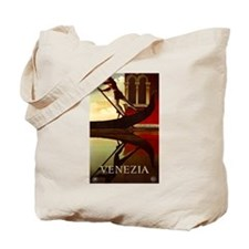 Vintage Venice Italy Travel Tote Bag