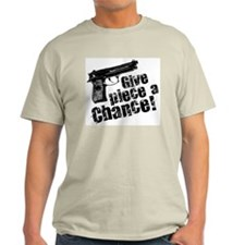 Give Piece a Chance II Ash Grey T-Shirt