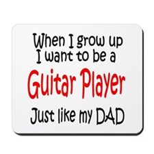 Guitar - like dad Mousepad