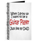 Guitar - like dad Journal