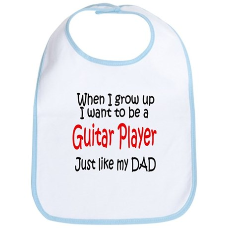 Guitar - like dad Bib