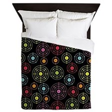 Periodic Shells (Dark) Queen Duvet