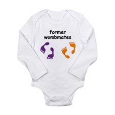 Former Wombmates (purple/orange) Body Suit