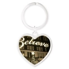 macy's new york city christmas Heart Keychain