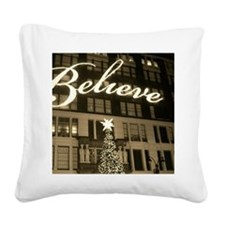 macy's new york city christma Square Canvas Pillow