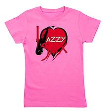 Jazzy Sax Girl's Tee