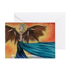 The Watcher Greeting Card