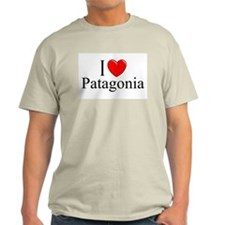 """I Love Patagonia"" Ash Grey T-Shirt"