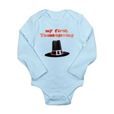 babys first Thanksgiving Body Suit
