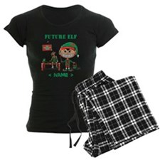 Personalize Future Christmas Elf Pajamas