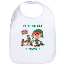 Personalize Future Christmas Elf Bib