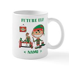 Personalize Future Christmas Elf Mug