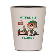 Personalize Future Christmas Elf Shot Glass