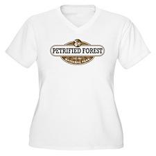 Petrified Forest National Park Plus Size T-Shirt