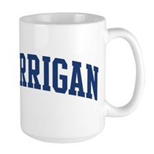 HARRIGAN design (blue) Mugs