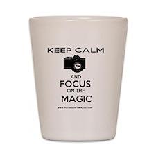 Focus on the Magic Shot Glass