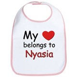 My heart belongs to nyasia Bib