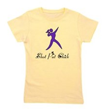 Shot Put Chick Girl's Tee