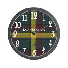 MacMillan Clan Wall Clock