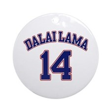 14th Dalia Lama Ornament (Round)