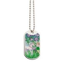 Fairy_Unicorn_ iphone2 Dog Tags
