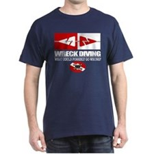 Wreck Diving (Line Markers)2 T-Shirt