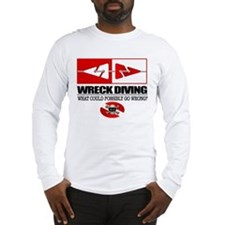 Wreck Diving (Line Markers)2 Long Sleeve T-Shirt