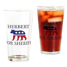 Herbert Mascott Drinking Glass