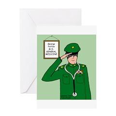 General Medicine Greeting Card