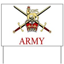 British Army Yard Sign