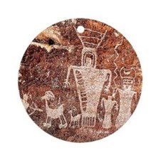 ANCIENT ASTRONAUTS Ornament (Round)