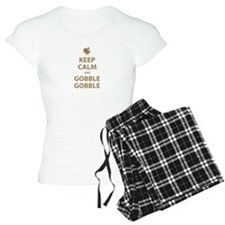 Keep Calm and Gobble Gobble Pajamas