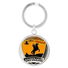Desperados Patch Round Keychain