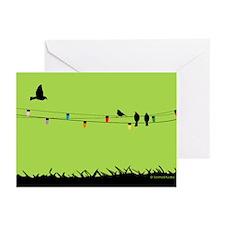 Happly Holiday Birds Greeting Cards (Pk Of 10)