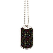 Periodic Shells (Dark) Dog Tags