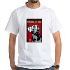 Obey the Weimaraner! 2-sided Shirt