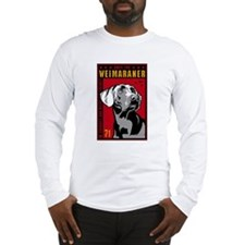 Obey Weimaraner Long Sleeve T-Shirt