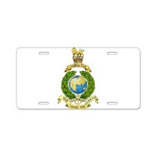 Royal Marines Aluminum License Plate